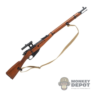 Rifle: DiD Russian WWII Mosin Nagant M1891/30 (Metal + Wood)