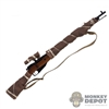 Rifle: DiD Russian WWII Mosin Nagant M1891/30 w/Weathered Burlap Wrap (Metal + Wood)