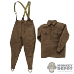 Uniform: DiD Russian Soviet M35 Gymnastiorka Tunic w/Trousers + Suspender (Weathered)