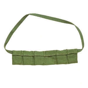 Ammo: DiD WWII 6 Pocket Bandolier (Ammo not included)