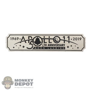 Tool: DiD Apollo 11 Moon Landing 50th Anniversary Name Plate