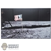 "Display: DiD The Moon Landing Backdrop (23.25"" X 14.5"")"