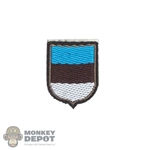 Insignia: DiD SS Estonian Volunteer Shield Patch
