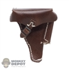 Holster: DiD Brown Luger Pistol Holster (genuine leather)
