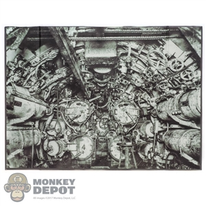 Display: DiD U-Boat Engine Room Backdrop
