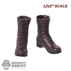 Boots: DiD 1/12th Mens Molded Jump Boots
