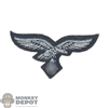 Insignia: DiD German Luftwaffe Bevo Breast Eagle (Blue)