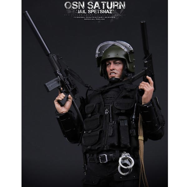 DAMTOYS OSN Saturn Jail Spetsnaz Armour Molle Vest /& Patches loose 1//6th scale