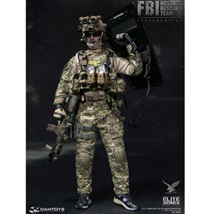 Boxed Figure: DamToys FBI HRT Agent Hostage Rescue Team (78042)