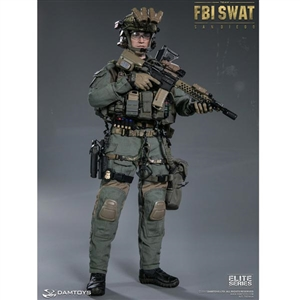 Boxed Figure: DamToys FBI SWAT Team Agent - San Diego (78044A)