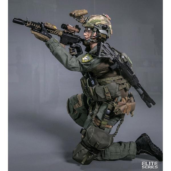 San Diego Special Weapons and Tactics-Shooting glasses 1//6 Scale-Damtoys Action Figures