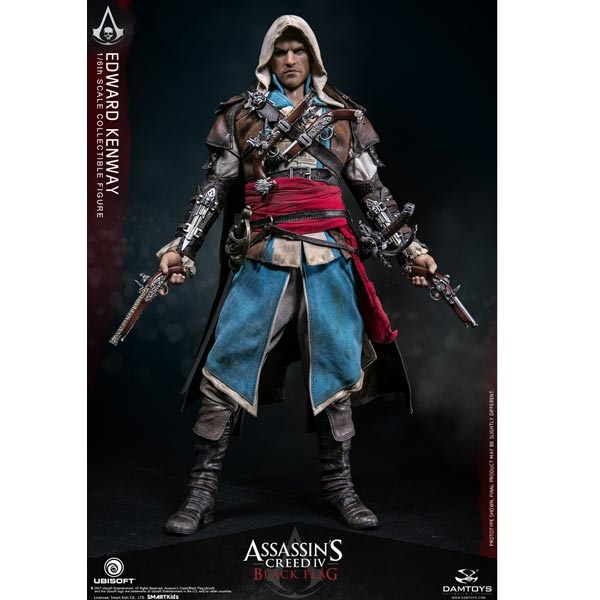 Monkey Depot Boxed Figure Damtoys Assassin S Creed Iv Black Flag Edward Kenway Dam Dms003