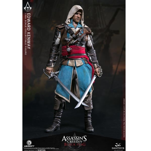 Monkey Depot Boxed Figure Damtoys Assassin S Creed Iv Black