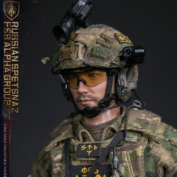 Russian Spetsnaz Photo Russiansoldier001: Boxed Figure: DamToys Russian Spetsnaz FSB