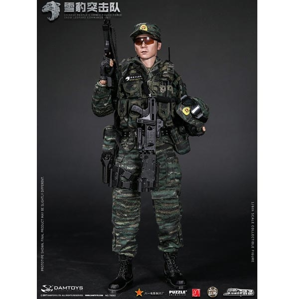 1//6 Scale People/'s Armed Police KADHobby Action Figures Nude Figure