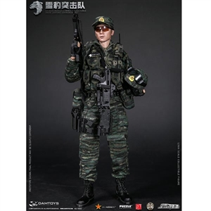 Boxed Figure: DamToys Chinese People's Armed Police Force Snow Leopard Commando Unit Team Member (78052)