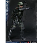 Boxed Figure: DamToys Chinese People's Armed Police Force Snow Leopard Commando Unit Team Leader (78053)