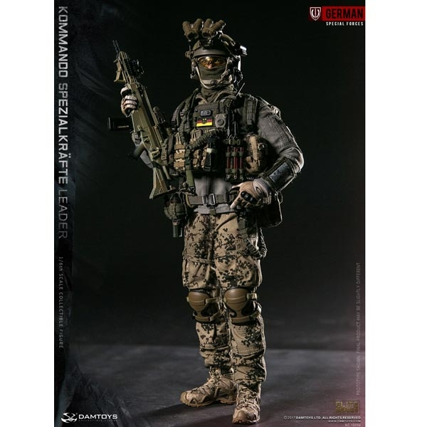 21//6 Scale DAMTOYS 78054 KSK SPEZIALKRÄFTE LEADER combat shirt