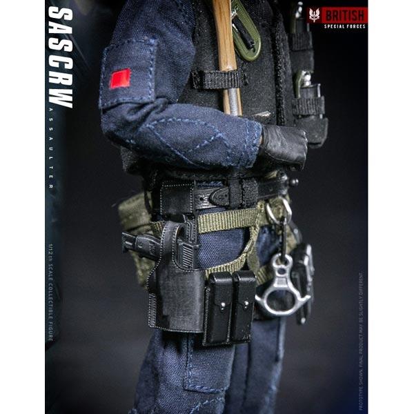 DAMTOYS PES001 1//12 Scale POCKET ELITE SERIES SAS CRW Assaulter Axe Model