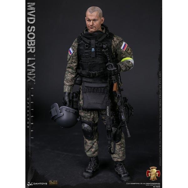 SOBR LYNX Black AK Bullet magazine Model DAMTOYS 1//6th RUSSIAN SPETSNAZ MVD