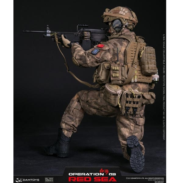 1//6 DAM DAMTOYS DMS007 Operation Red Sea Gunner CQB Belt