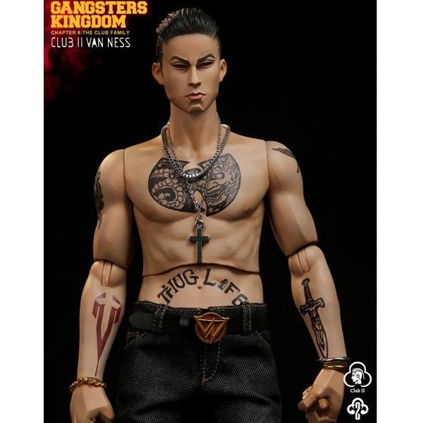 DAMTOYS DAM GK017 1//6 Gangsters Kingdom-Club 2 Van Ness Hands Model