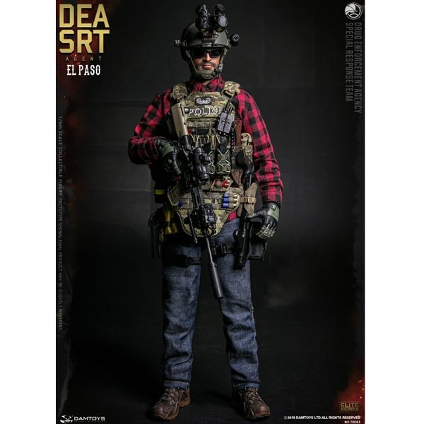 Casque DID LAPD Special Weapons and Tactics ASSAULTER Driver 1//6TH ACTION FIGURE TOYS Dam