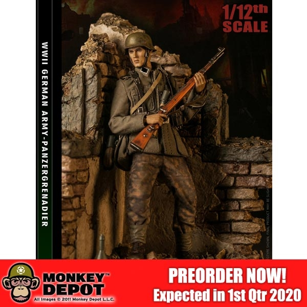 In-Stock 1//12 Scale DAMTOYS WWII SS-Panzer-Division PES003 6in Action Figure
