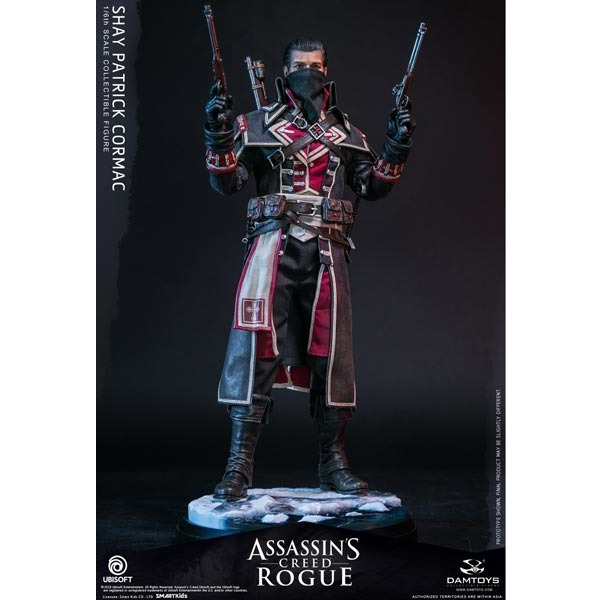 Monkey Depot Damtoys Assassin Creed Rogue Shay Patrick Cormac Dam Dms011