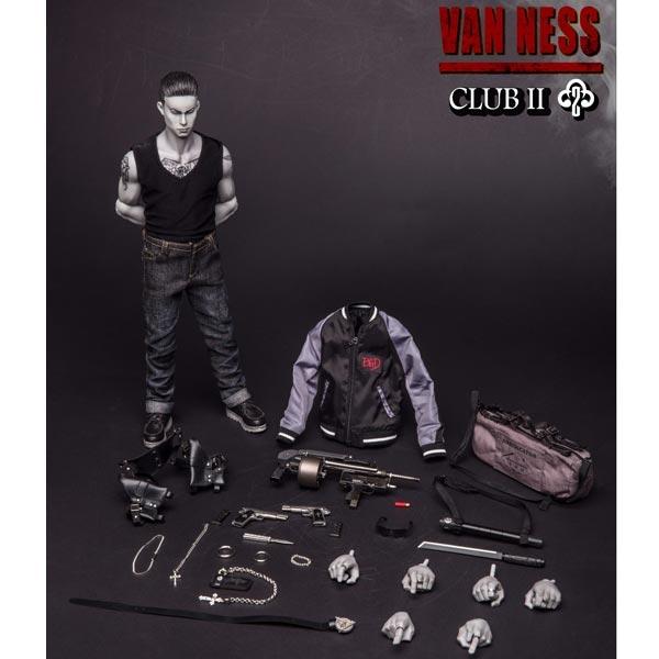 Cross Necklace Set Van Ness GK 1//6 Scale Damtoys Action Figures
