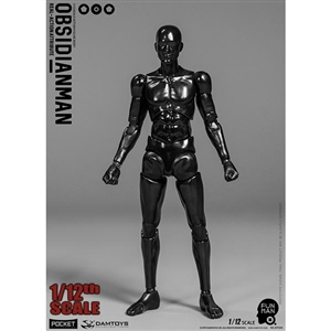 DamToys 1/12th Obsidianman (DAM-DPS06)