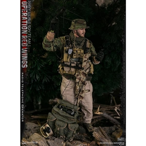 DamToys Operation Red Wings NAVY SEALS SDV Team 1 Radio Telephone Operator (78081)