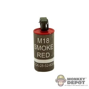 Grenade: DAM M18 Smoke Canister Red
