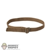 Belt: Dam Toys BDU Brown