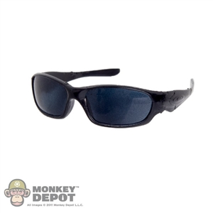 Glasses: DamToys Black Frame Sunglasses w/Black Tint