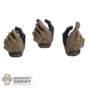 Hands: DamToys Two Toned Gloved Hand Set