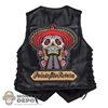 Vest: DamToys Flamed Leather Vest