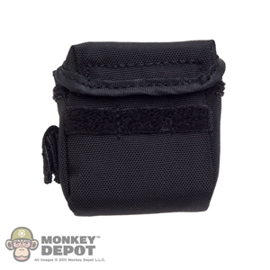 Pouch: DamToys Black Gas Mask Bag w/Alice Clips