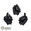Hands: DamToys Black/Red/Grey Tactical Gloved Hands