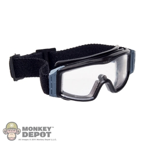 Goggles: DamToys Black w/Clear Tint A Frame Goggles