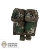 Ammo: DamToys Double Grenade Pouch In Digital Camo