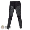 Pants: DamToys Black Pants w/Leather