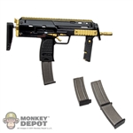 Rifle: DamToys H&K MP7 Gold Plated Rifle