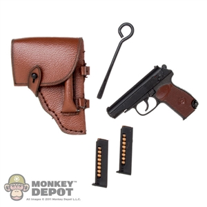 Pistol: DamToys Makarov PM w/Holster & Cleaning Rod