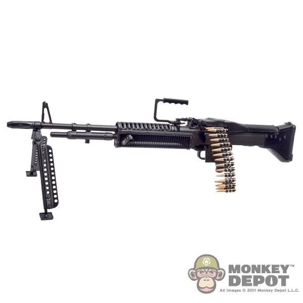 monkey depot rifle damtoys m60 machine gun w 7 62mm linked ammo