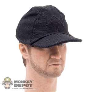 Hat: DamToys Black Ball Cap