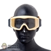 Mask: DamToys Tan w/Clear Tint A Frame Goggles