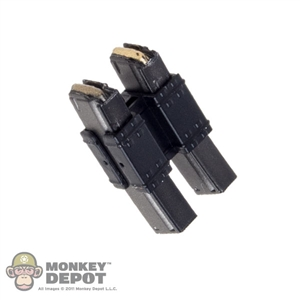 Ammo: DamToys 9mm 20rd Mags w/Dual Mag Clamp
