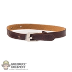 Belt: DamToys Brown Leatherlike Belt