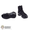 Boots: DamToys Black Combat Boots